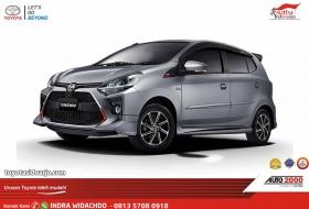 Toyota New Agya Grey