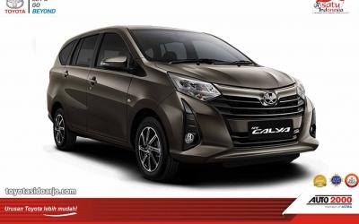 Toyota New Calya Bronze