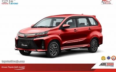 Toyota New Veloz Maroon
